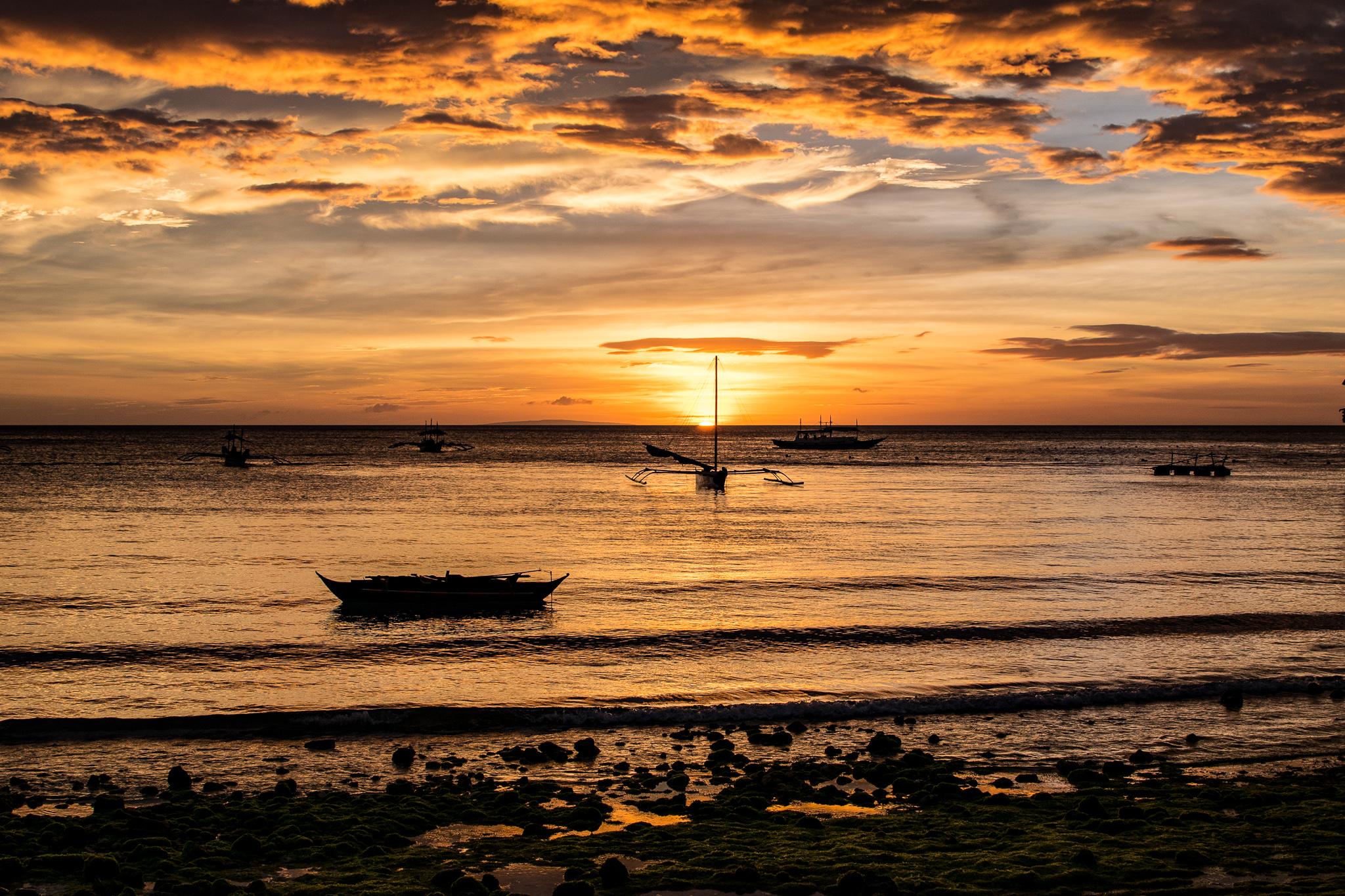 Sonnenuntergang Boracay